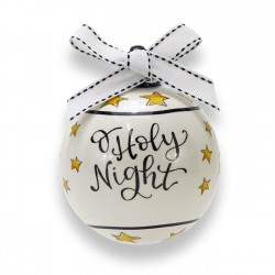 Ornament-Ceramic-O Holy Night