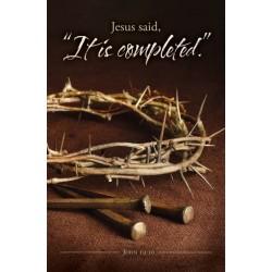 Bulletin-Jesus Said  It Is...