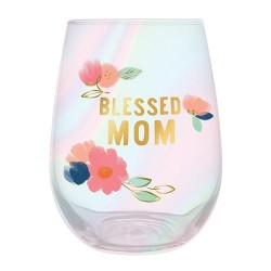 "Glass-Blessed Mom (5""H 20 Oz)"
