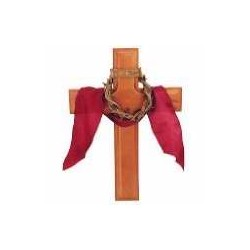 Wall Cross-Crown Of Thorns...