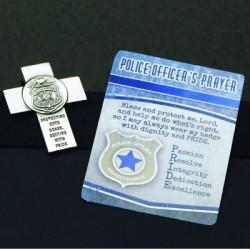 Visor Clip-Police Cross...