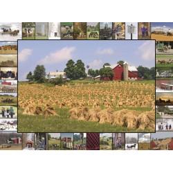 Jigsaw Puzzle-Golden Grain...