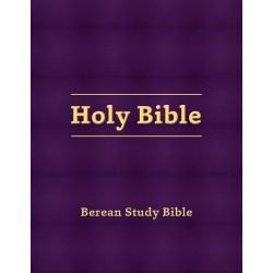 Berean Study Bible-Eggplant...