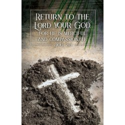 Bulletin-Return To The Lord...