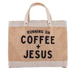 Mini Market Tote-Coffee &...
