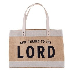 Market Tote-Give Thanks To...
