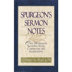 Spurgeon's Sermon Notes...