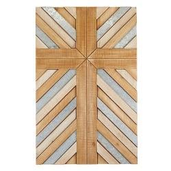 """Wall Cross-Plank (28"""")"""