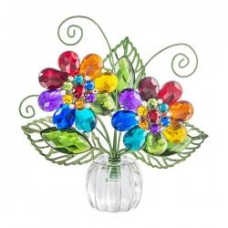 """Posy Pot-Rainbow Daisy (4.25"""")"""