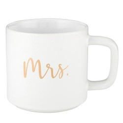 """Mug-Mrs.-We Love (3.5""""H 14 Oz)"""