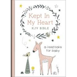 KJV Kept In My Heart Bible...