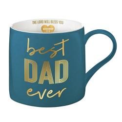 Mug-Best Dad Ever w/Verse...