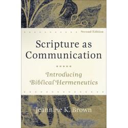 Scripture As Communication