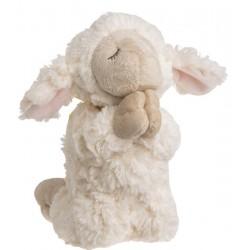 """Plush-Praying Lamb-White 8"""""""
