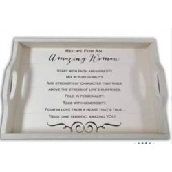Serving Tray-Amazing Woman...