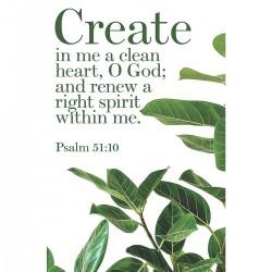 Bulletin-Create In Me A...
