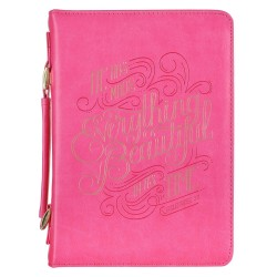 Bible Cover MED Pink...