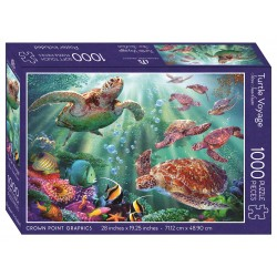 Jigsaw Puzzle-Turtle Voyage...