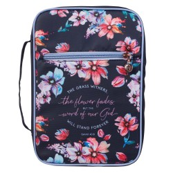Bible Cover MED Navy The...