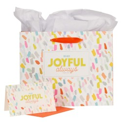 Gift Bag-Be Joyful Always...