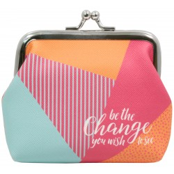 Coin Purse-Be The Change (4...