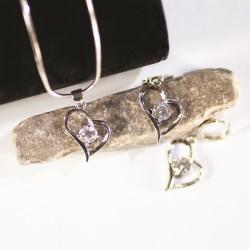Necklace/Earring Set-Open...