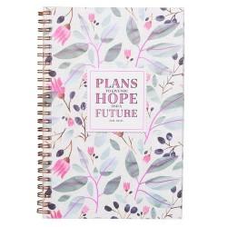Notebook-Wirebound-Hope & A...