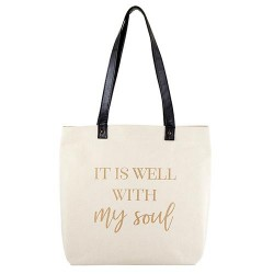 Tote Bag-Canvas-It Is Well...