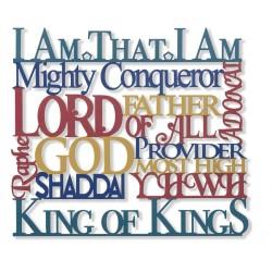 Wall Hanging-Names Of God...