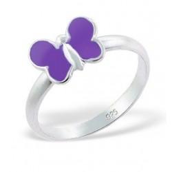 Ring-Butterfly w/Epoxy...