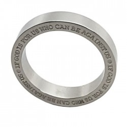 RING-IF GOD IS FOR US TEXT...