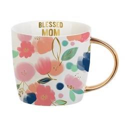 Mug-Blessed Mom (14 Oz)