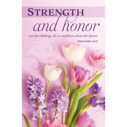 Bulletin-Strength And Honor...