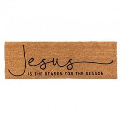 Coir Doormat-Jesus Is The...