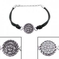 Bracelet-Face Of Jesus-925...