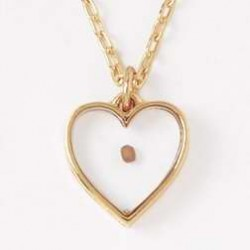 Necklace-Mustard Seed Heart...