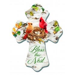 Wall Cross-Cardinals/Bless...