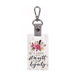 Key Chain-Strength And Dignity