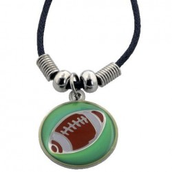 Necklace-I Can Do-Football...