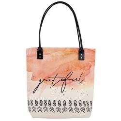 Tote Bag-Canvas-Grateful...