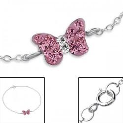 Bracelet-Butterfly w/Light...