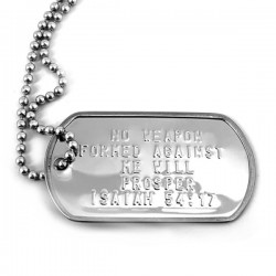 Necklace-Stainless Isaiah...