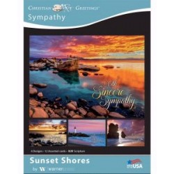 Card-Boxed-Sunset Shores...