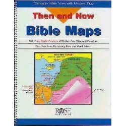 Map-Then And Now Bible Maps