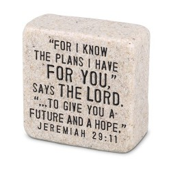 Plaque-Scripture Stone-His...