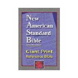 NASB Giant Print Reference...