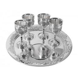 "Communion-Set-8"" Plate & 4..."