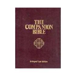 KJV Companion Bible-Large...