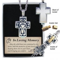 Locket-Memorial Cross...