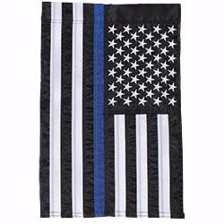 Flag-Garden-Thin Blue Line...